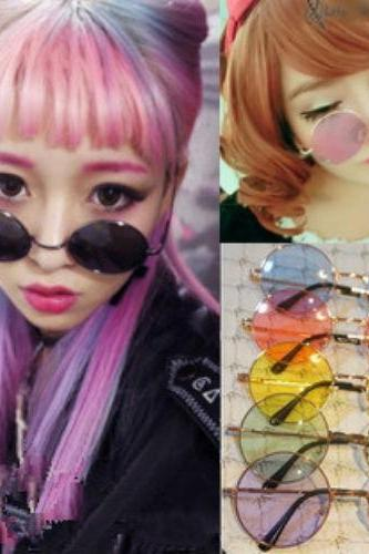 Kawaii Clothing Harajuku Ropa Glasses Gafas Korean Japanese Tokyo Cute Sun Ulzzang Sunglasses